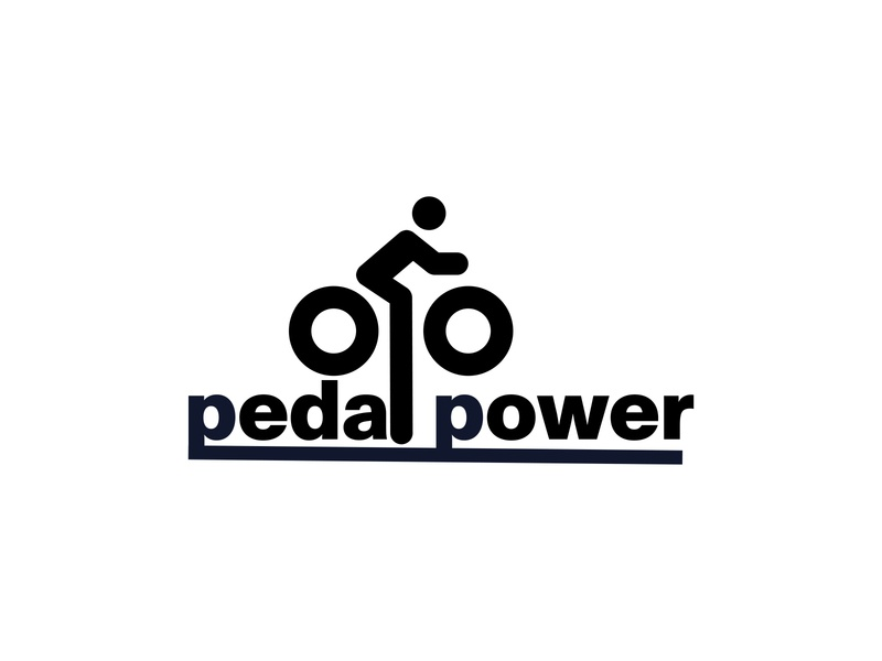 Daily Logo Challenge: Day 24| Pedal Power bike shop bike bicycling bicycles power pedal bicycle blue design branding illustration daily logo design dailylogo daily logo dailylogochallenge