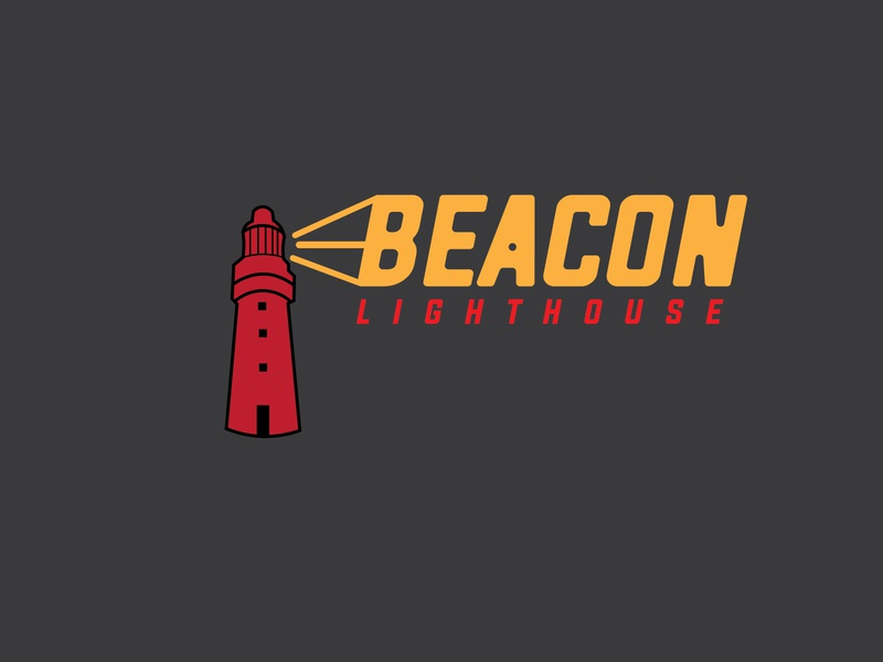 Daily Logo Challenge: Day 31 | Beacon lighting lighthouse logo light beam fog beacon day 31 lighthouse daily logo design daily logo dailylogo dailylogochallenge
