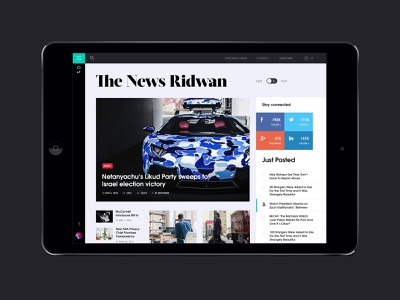 Free news website template. The news ridwan text fashion design fashion blog magazine web design website design newsfeed uidesign free ui hezy theme web template psd homepage design news homepage