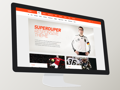 Super Duper, amazing big theme. 150 psd. Only $12