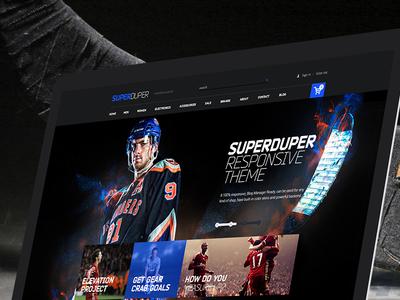 Super Duper Update super duper web template html responsive theme ecommerce download buy themeforest update multipurpose