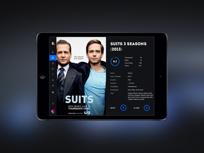 Sfilm PSD Template psd hosting video serial movie film cinema web-design template web site