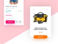 Day 001 — Product Card hezy ux shadow price product card ui day001 daily100
