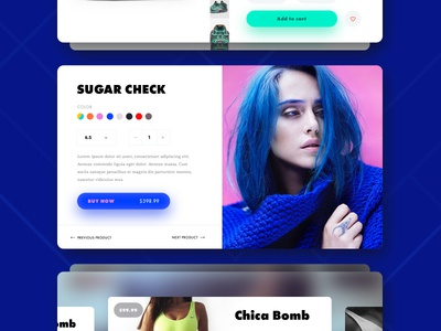 Day 006 — Product Cards flat ux ui day006 daily100 colors shadow shop minimalistic fashion cards product