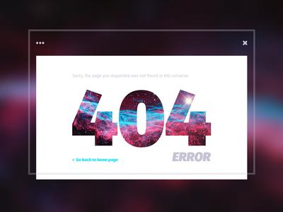 Day 021 — Error 404