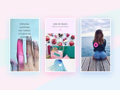 Day 036 — Promotion pink socials sugar fashion promotion freebie free ux ui day036 daily100 dailyui