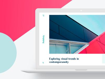 Subtlety – Freebie, PSD Blog Template minimal blog web freebie free design ui template psd