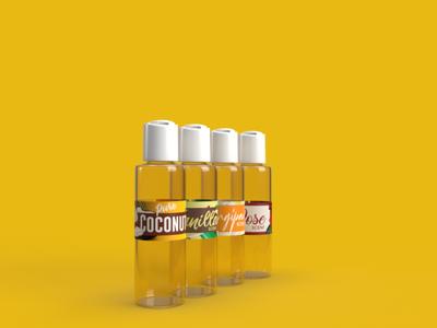 Coconut Virgin Oil Product design