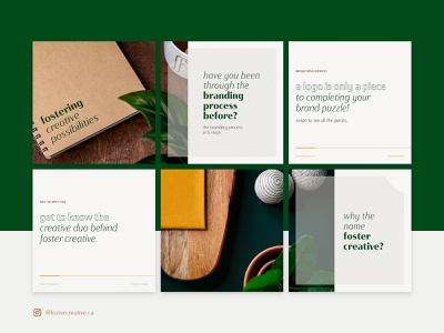 Foster Creative - Instagram Grid creative studio