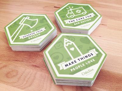 CreativeMarket Stickers stickers creative market badge