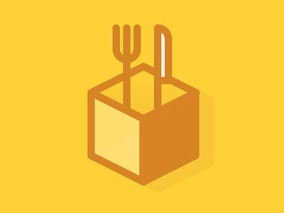 FoodHacks logo mark foodhacks icon logo food