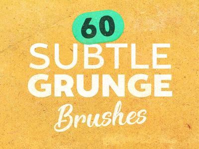 Subtle Grunge Brush Set 6 texture photoshop subtle grunge free brushes