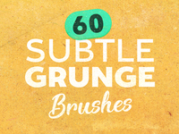 Subtle Grunge Brush Set 6