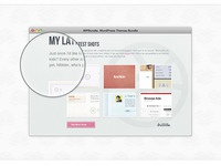 Browser & Magnify with Free PSD