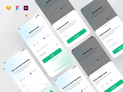 Medical Consultation app - Signup page ui branding 3d animation medical app medicine healthcare patient app doctor appointment app design ux ui