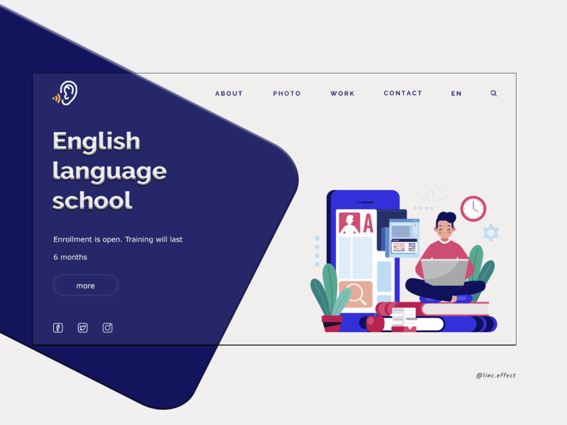 School website design company website design and development website designer website designing website design ux design figmadesign creative vector logo illustration uxdesign uidesign website design