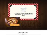 Tiffany Ducummon Website