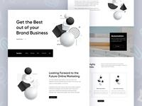Nodea - Landing Page design