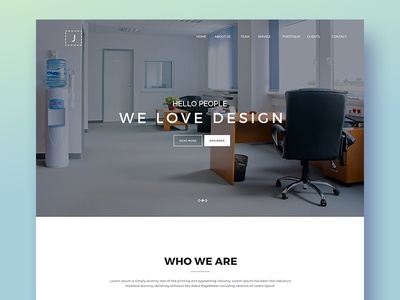 Landing Page colorful design concept art dark app dribbble best shot illustration drawing letters draw digital art digital advertising ui ux clean design flat landing page app material onepage web
