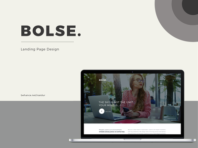 Bolse Landing page design womans button animation word as image brush badge brown bear pink hair pink website banner ecommerce template theme design wordpress development wordpress app landing page dribbble best shot onepage  page  ui  ux  web