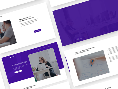 Innovative Design PSD+HTML5 Landing Page theme theme forest user analysis psd uipractice ux challenge purple wordpress design theme park design start ups small business simple one page multipurpose marketing launch landing page html5 template corporate business