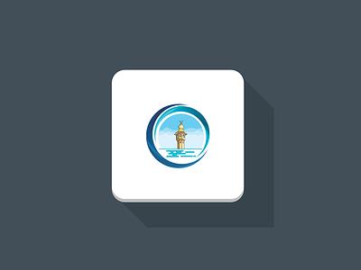 Focused Muslim – Prayer Times Apps Design iphone ipad ios illustration art illustration identity icons iconography icon app mosque mecca material makkah kaba islamic grand icon app muslim focused