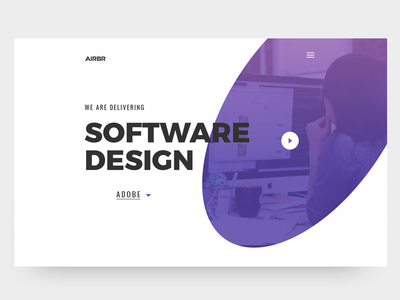 Software Design Agency book binding guideline style guide symbole sun software company software design store design store space web video ui theme page landing agency adobe design software