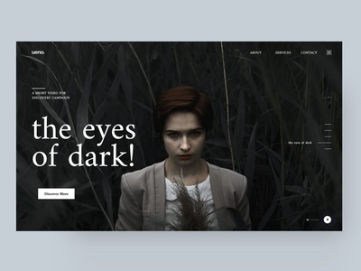 Home Page UI Concept Idea Exploration_5.2 dailui digital user interaction ui  ux design ui  ux mobile app design dark art black exploration trend homepage idea feed eyes ios iphone log dark profile