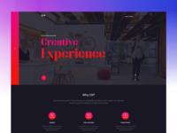 Digital Agency Homepage Exploration