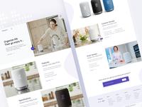 Landing Page - Sony Smart Speaker