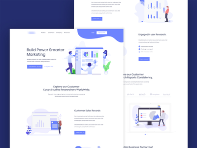 Agency Landing Page Redesign