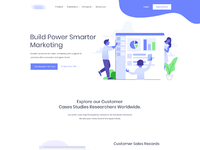 Agency landing page redesign b