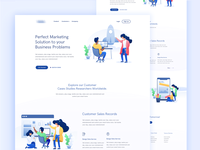 Marketing Agency Landing Page - 2