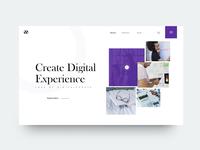 UI Design Idea Exploration (Digital Experience)