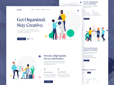 Business Startup Landing Page branding agency dotpixsel ui design 2019 design trend experience map trendy mordern buttons minimalistic illustraion ux webdesign clean web homepage design page landing startup business