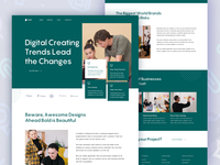 Laza ll Landing Page design