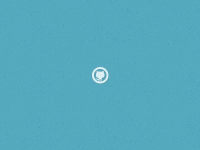 Github Icon git github icon glyph small white blue psd photoshop goodie goodies social