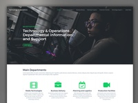 Operations - Homepage