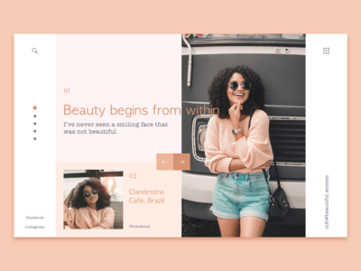 Beautiful Women Landing Page