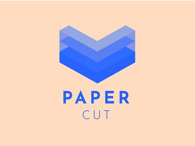 Paper Cut cute logodesign cut paper logotype logo design logos logo