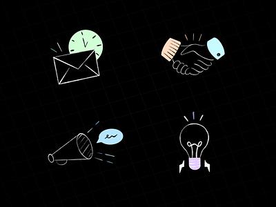 Icons icon design logo icons app iconography illustraion design icon set