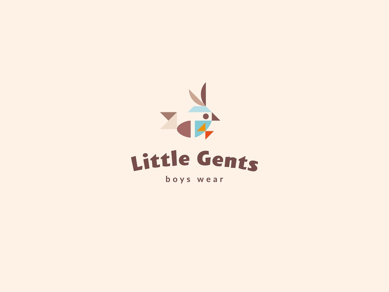 Little Gents / branding for sale kids kid gentleman gent little bowtie bird logotype logo branding brand clothes wear boys boy
