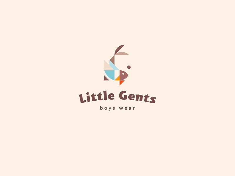 Little Gents / branding for sale logotype logo bowtie fish kids kid gentleman gent little clothes branding brand wear boys boy