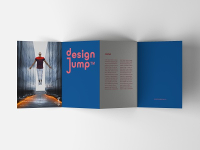 Design Jump / Logo & Branding service startup jump design branding logotype logo