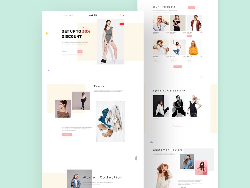 Cloth shop website design clothes creative modern ui ecommerce design ecommerce shop ecommerce clothshop best website trend creative website agency agency website web uiux uidesign ui design