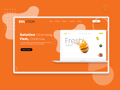 Creative Design Agency Website Redesign graphicdesign graphci user experience userinterface uiux webdesign