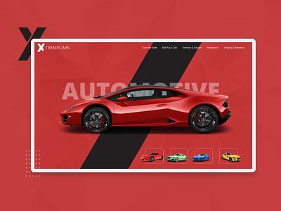 Car Sales Website Redesigned ux ui design userinterface uiux
