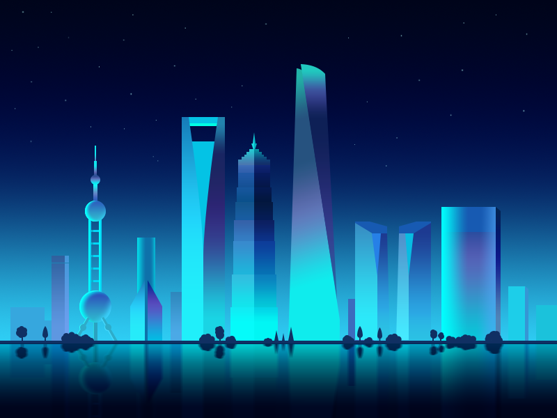 Calendar Illustration Job : Shanghai by penny gu dribbble