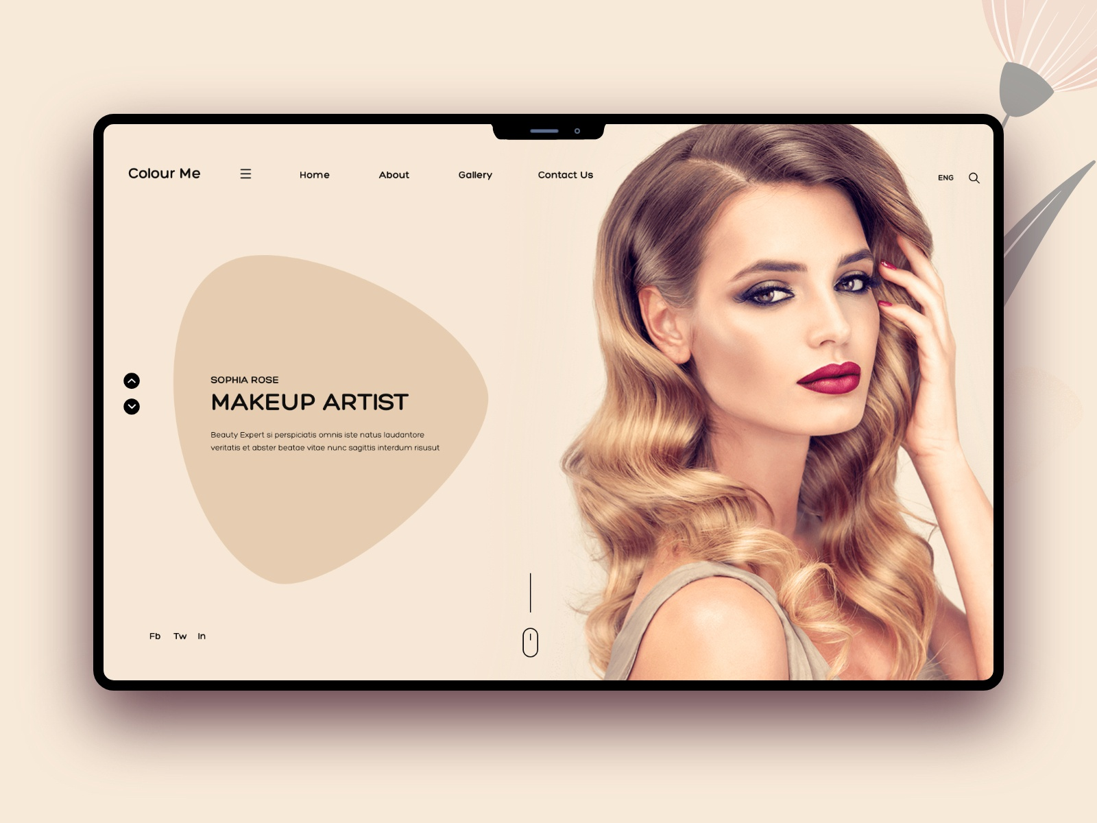 Beauty Salon And Spa Banner Design By Hira Riaz On Dribbble