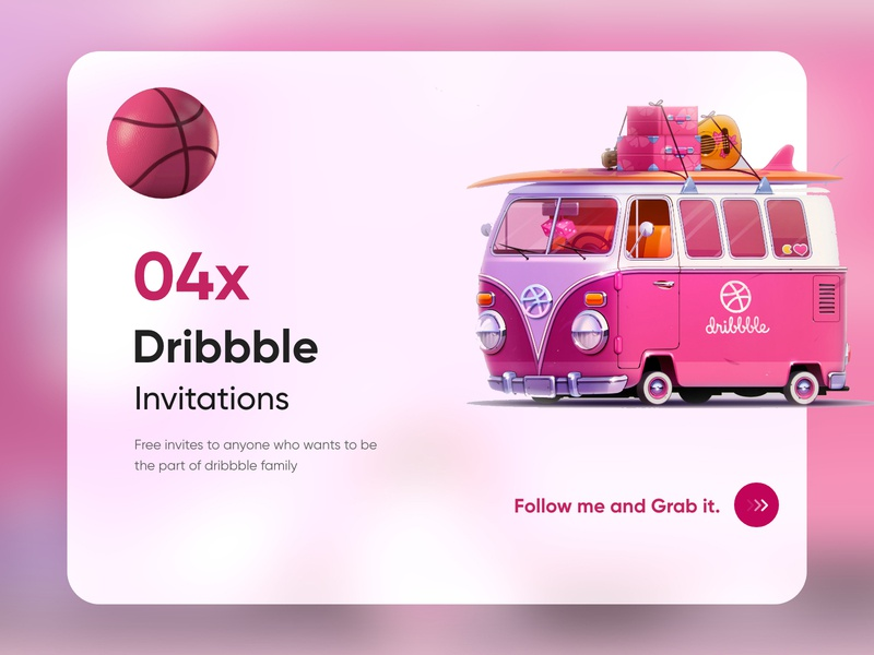 4 Dribbble Invites-UX/UI Design clean creative adobe xd design 2020 dribbble invites webdesign uiux trending top ux ui designer restaurant product design mobile app minimal ios app design illustration dubai designer branding blur android app